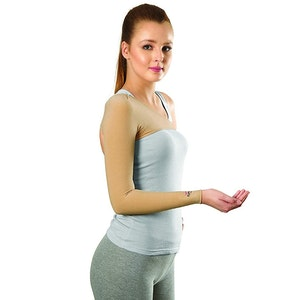 Tynor Compression Garment Arm Sleeve with Shoulder Cover