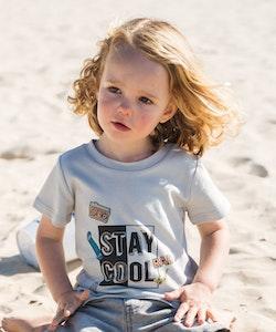 Certified Organic Cotton Stay Cool T Shirt-Grey