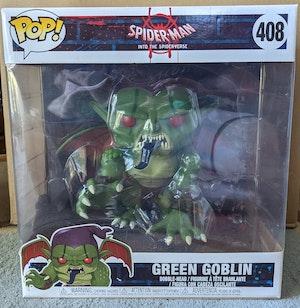 """Spider-Man: Into the Spider-Verse - Green Goblin 10"""" Pop Vinyl"""