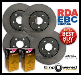 FULL SET DISC BRAKE ROTORS + PADS for Holden Commodore VR VS with IRS 1993-2000