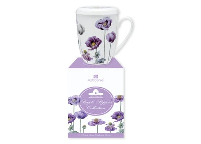 Ashdene: Purple Poppies 3 piece Infuser