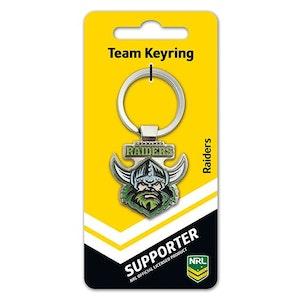 Creative Keys NRL Team Logo Key Ring - Canberra Raiders