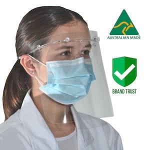 Protective Face shield (50pcs) - QUALITY AUSTRALIAN MADE
