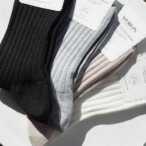 Woron Organic Cotton Socks