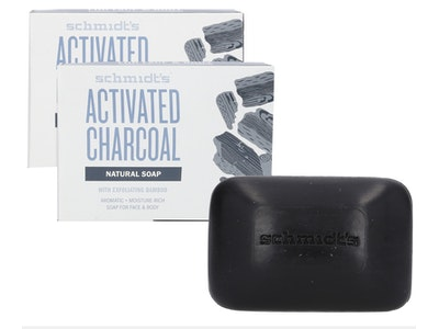 Boutique Medical 2x SCHMIDT'S 142g NATURAL SOAP FOR FACE & BODY ACTIVATED CHARCOAL