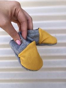 Bibbidi Bub Mustard & Grey Shoes