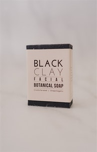 Botanical Bar Soap - Black Clay Facial Soap