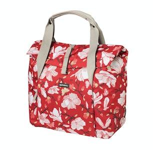 Basil Magnolia Shopper Bag 18L Poppy Red