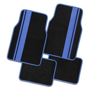 Titan 4-Piece Car Mat - Blue
