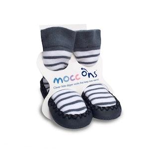 Sock Ons MOCC ONS Nautical Stripe 12-18