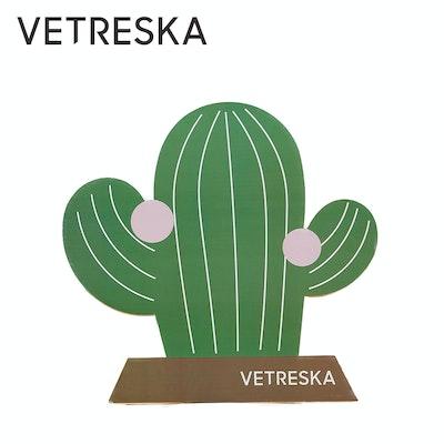 VETRESKA Fruity Cat Scratching Board - CACTUS