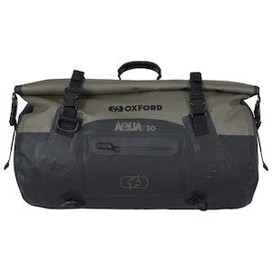 Oxford Aqua T30 Roll Bag - Black/ Khaki