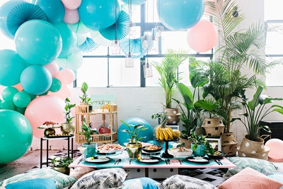 DIY Days with Haymes: A Painted Palm Table