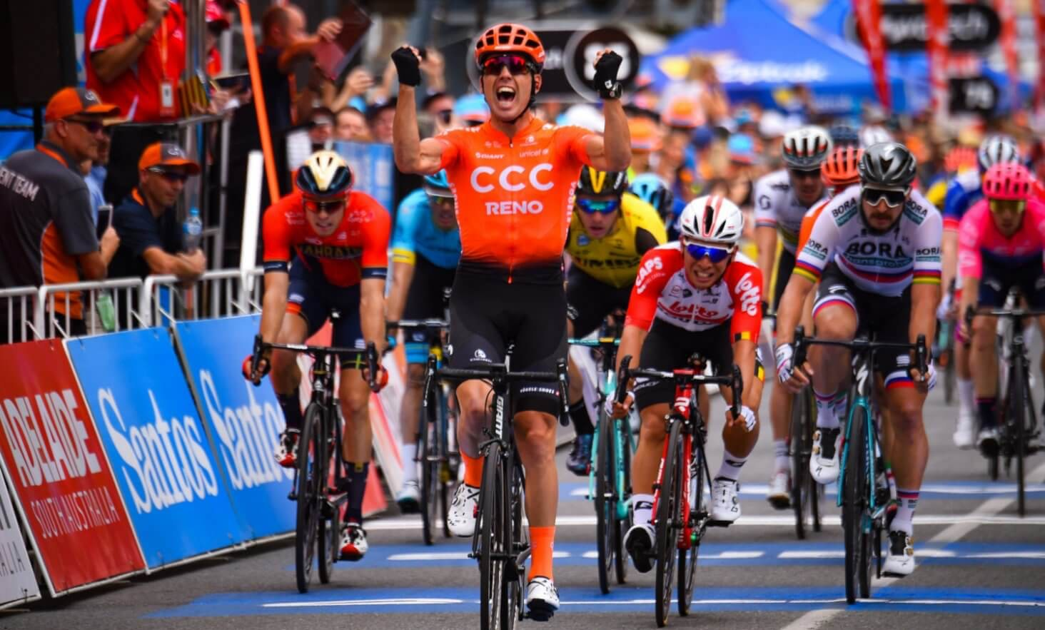 Northwave - Northwave breaks ice with Bevin at Tour Down Under