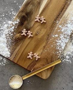 Christmas Gingerbread Studs