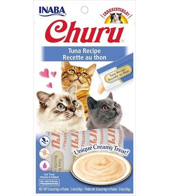 INABA Churu Creamy Cat Treat Tuna Recipe 6 x 56g