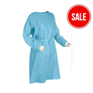 Isolation Gown (10 Gown Pack, Individually packed)