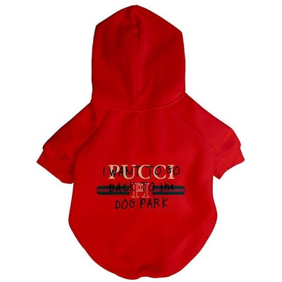 Fresh Pawz USA Pucci Dog Park Hoodie | Dog Clothing