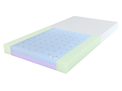 Babyrest DuoCore Cot Mattress. 1310 x 750 x 95mm