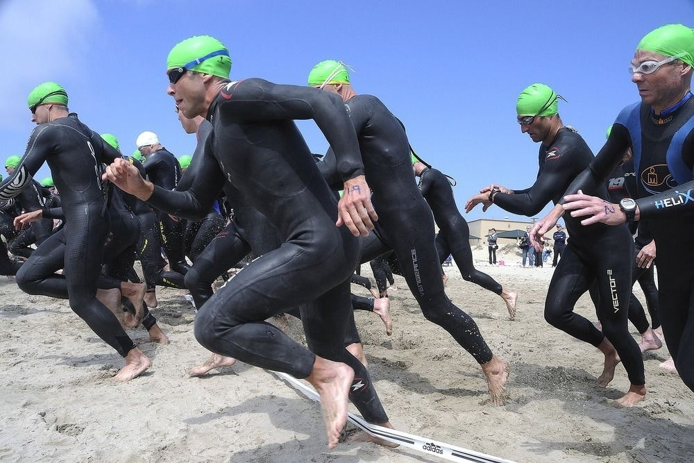 triathlon formats explained swim 1