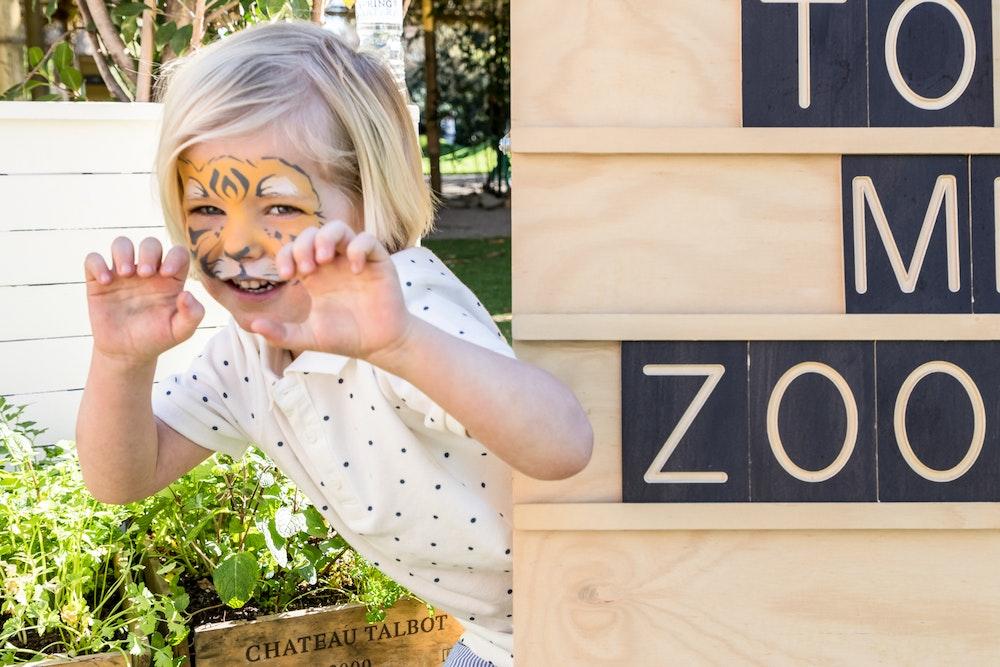 LENZO Melbourne Zoo Eco Friendly Party
