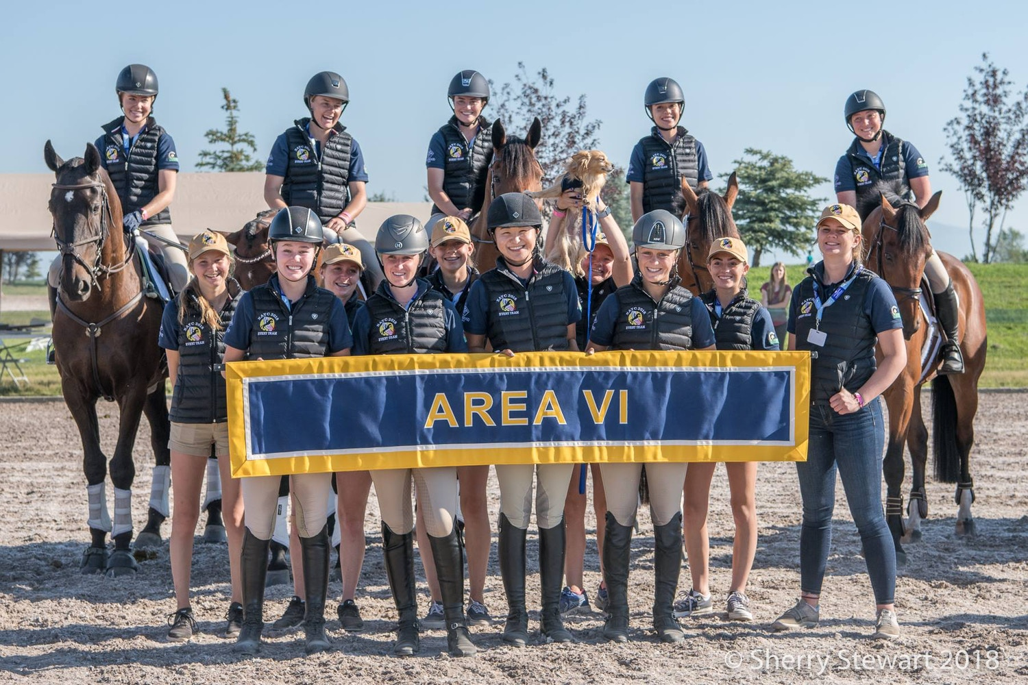 Bec Braitling & the Area VI Young Rider Program
