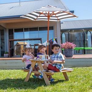 Lifespan Kids Sunset Picnic Table with Umbrella