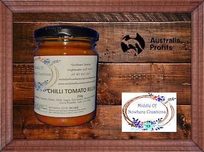 Chilli Tomato Relish 250g