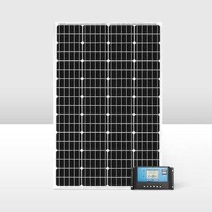 130W Mono Solar Panel Kit