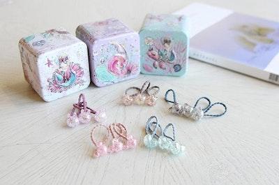 The Mermaid Hair Ties (Handmade in Korea)