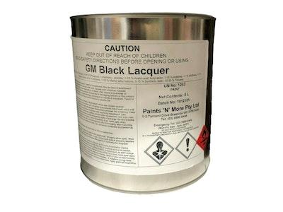 1K GMH Black 4Lt Ready For Use