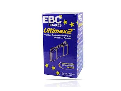 EBC ULTIMAX PREMIUM FRONT BRAKE PADS for Jaguar XF X250 2.0T 177Kw 6/2012-4/2015