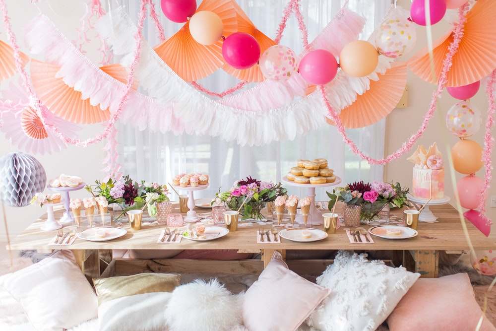 Kids Party LENZO Boho Birthday