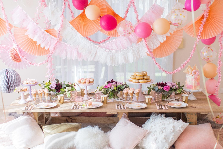 Boho Birthday Kids Party Ideas Lenzo