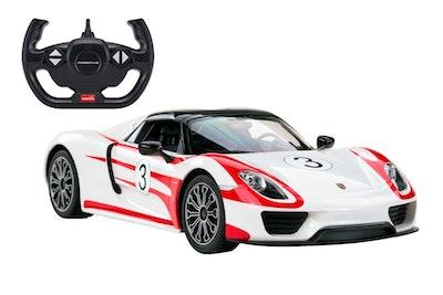Rastar Licensed 1:14 Radio Control Car - Porsche 918 Spyder LMS