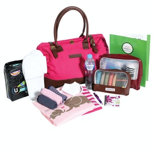MaternityBag Weekender Hospital Bag (packed)
