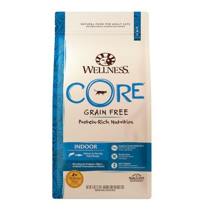 WELLNESS CORE Grain Free Indoor Adult Salmon & Herring Dry Cat Food 2.27kg