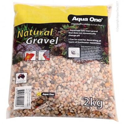 Aqua One AO NatGravel Gold Light 2kg