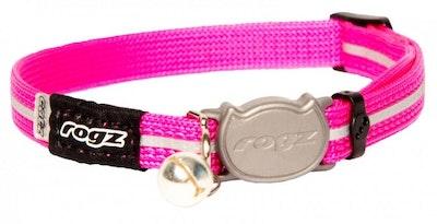 Rogz Collar Safeloc Alleycat Pink
