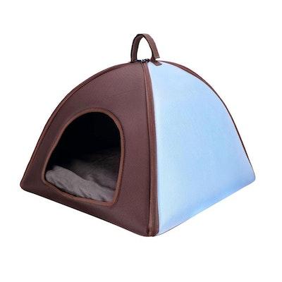 Ibiyaya Pet Tent Bed Blue