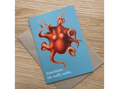 Sympathy Card | Greeting Card | Card for Friend | Funny Card | Humorous Card | Card for him | Friendship Card
