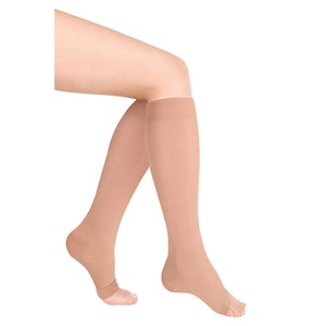 SoftMed Medical compression socks-knee high open toe CLASS 2 (20-30)mmhg