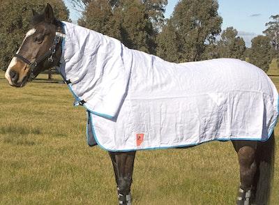 Capriole Equestrian Flag Cloth Neck Combo