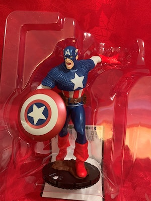 Captain America Heroclix - Marvel 15th Anniversary What If? Colossal Ameridroid Case Incentive