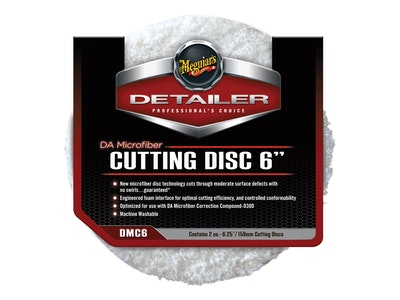Meguiar's® DA Microfiber Cutting Disc - 6 Inch, DMC6, 2 Pack