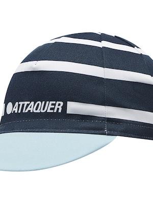 Attaquer Stripe Logo Cap Navy