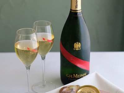 Polanco Sturgeon Caviar & Champagne