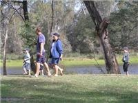 Space for the family Goulburn River Caravan Park Seymour