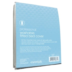 Caronlab Professional Washable Fitted Bed Cover (Size 190 x 70cm)