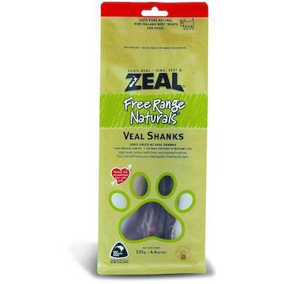 Zeal Free Range Naturals Veal Shanks Dog Treats 125G